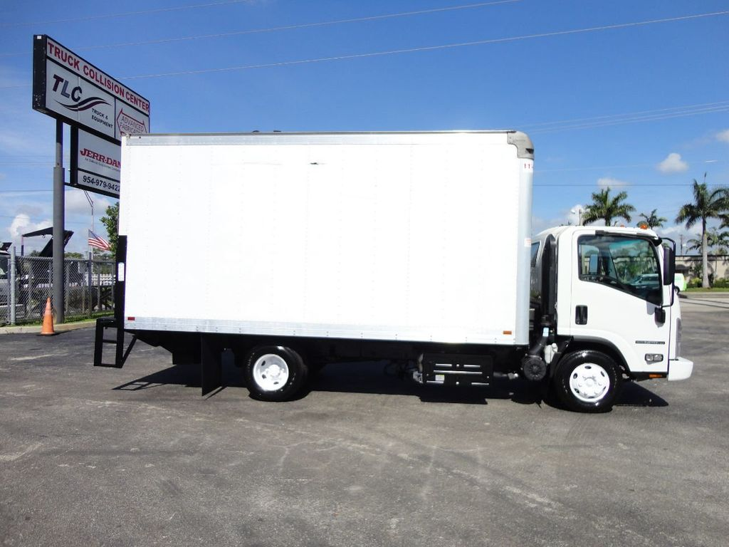 2016 Isuzu NPR HD 16FT DRY BOX TRUCK . TUCK UNDER LIFTGATE CARGO TRUCK - 17788207 - 10