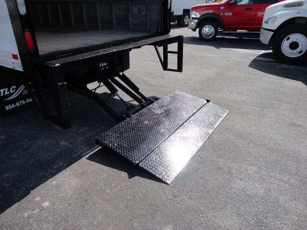 2016 Isuzu NPR HD 16FT DRY BOX TRUCK . TUCK UNDER LIFTGATE CARGO TRUCK - 17788207 - 16