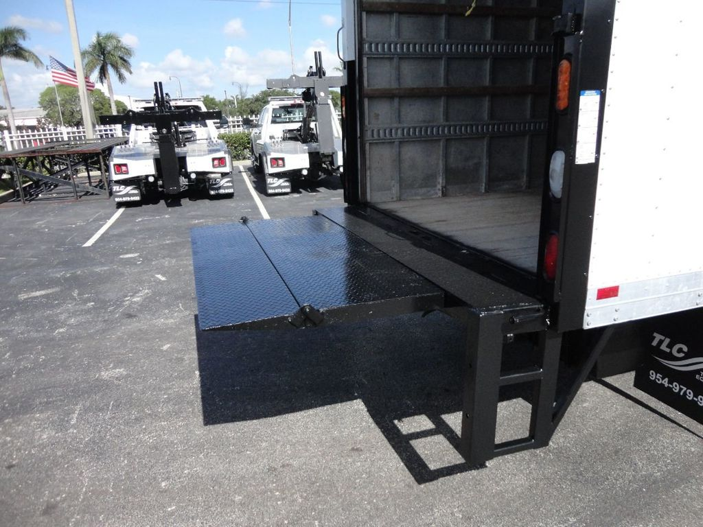 2016 Isuzu NPR HD 16FT DRY BOX TRUCK . TUCK UNDER LIFTGATE CARGO TRUCK - 17788207 - 18
