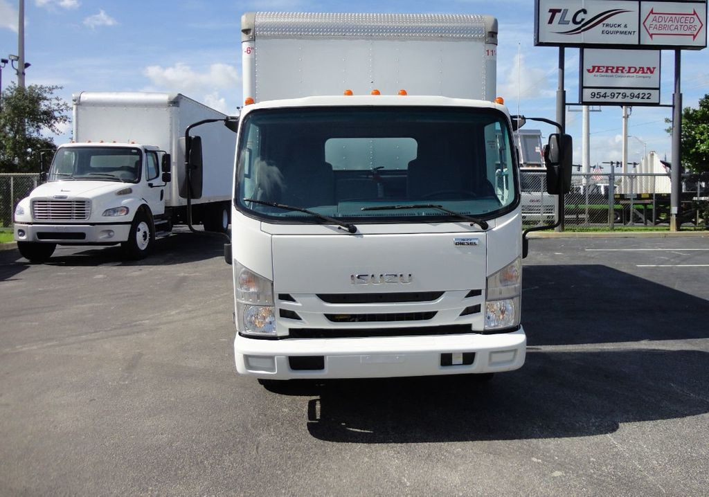 2016 Isuzu NPR HD 16FT DRY BOX TRUCK . TUCK UNDER LIFTGATE CARGO TRUCK - 17788207 - 2