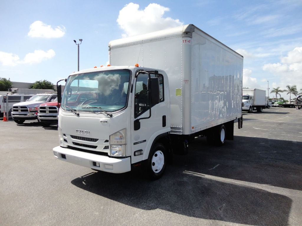 2016 Isuzu NPR HD 16FT DRY BOX TRUCK . TUCK UNDER LIFTGATE CARGO TRUCK - 17788207 - 3