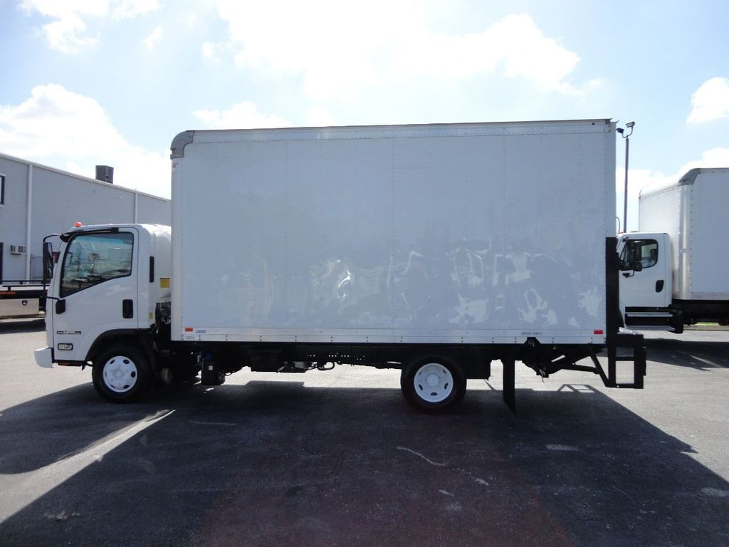 2016 Isuzu NPR HD 16FT DRY BOX TRUCK . TUCK UNDER LIFTGATE CARGO TRUCK - 17788207 - 5