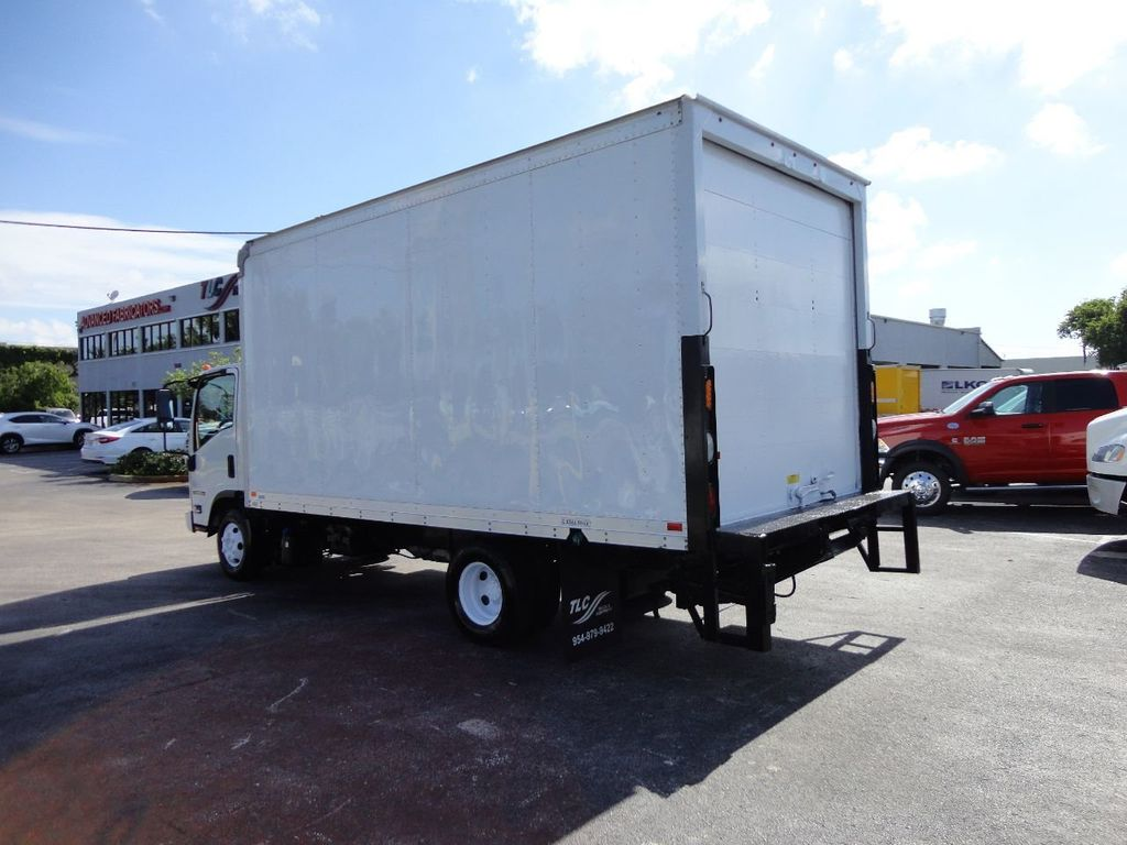2016 Isuzu NPR HD 16FT DRY BOX TRUCK . TUCK UNDER LIFTGATE CARGO TRUCK - 17788207 - 6