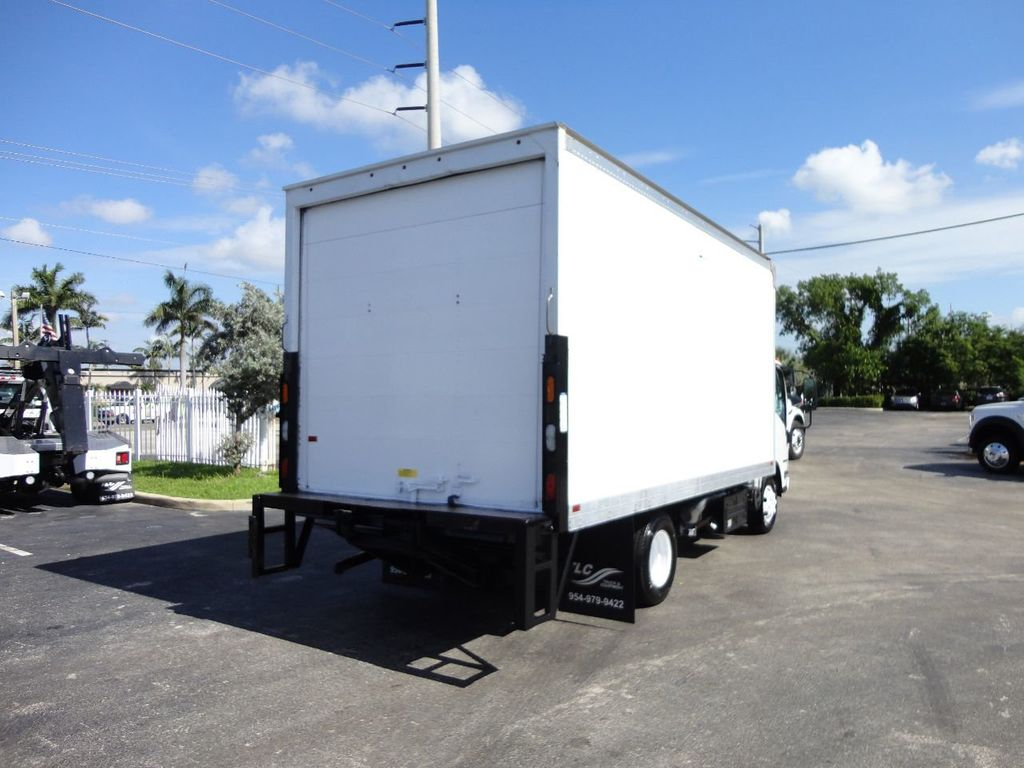 2016 Isuzu NPR HD 16FT DRY BOX TRUCK . TUCK UNDER LIFTGATE CARGO TRUCK - 17788207 - 8