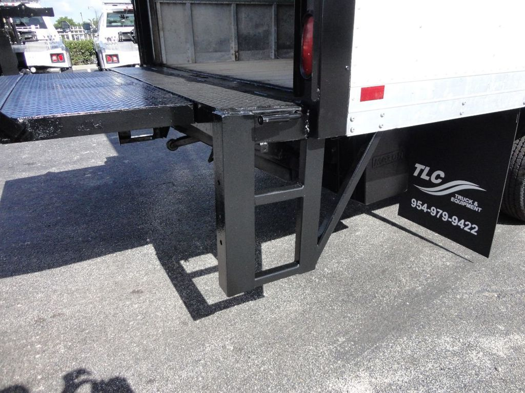 2016 Isuzu NPR HD 16FT DRY BOX TRUCK . TUCK UNDER LIFTGATE CARGO TRUCK - 17788294 - 19