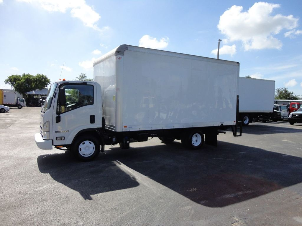 2016 Isuzu NPR HD 16FT DRY BOX TRUCK . TUCK UNDER LIFTGATE CARGO TRUCK - 17788294 - 4
