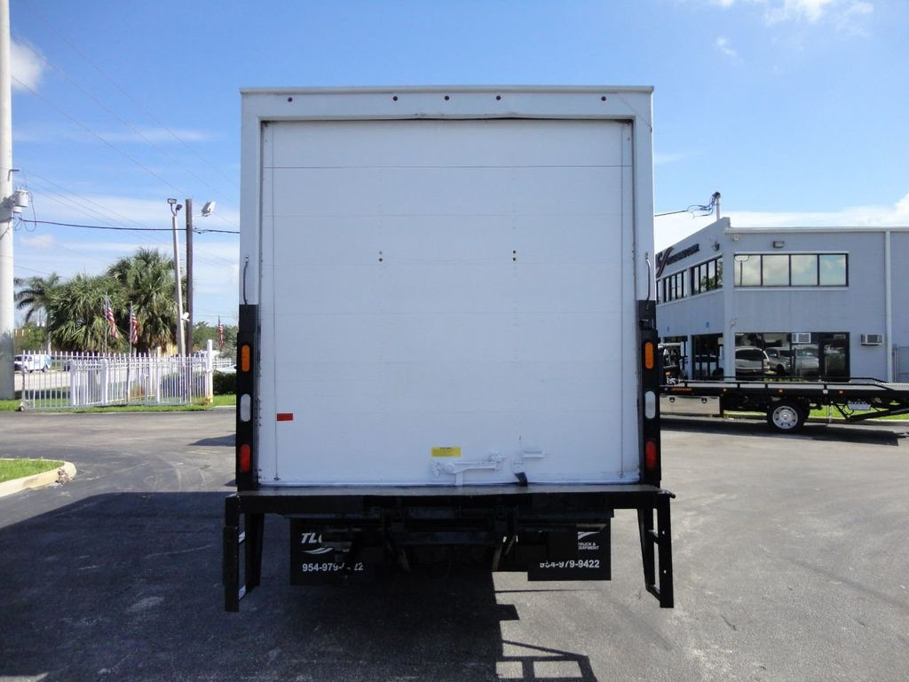 2016 Isuzu NPR HD 16FT DRY BOX TRUCK . TUCK UNDER LIFTGATE CARGO TRUCK - 17788294 - 7