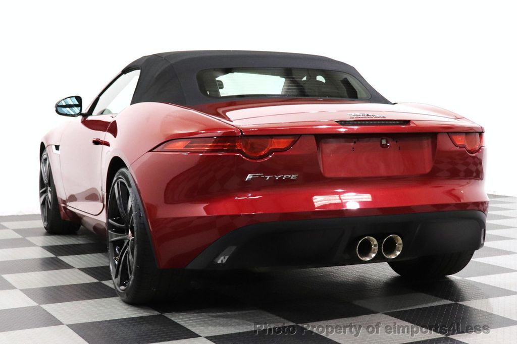 2016 Jaguar F-TYPE CERTIFIED F-TYPE 20s Meridian Audio NAVI - 18499010 - 13