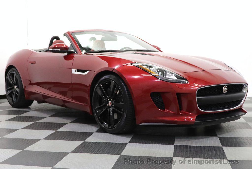 2016 Jaguar F-TYPE CERTIFIED F-TYPE 20s Meridian Audio NAVI - 18499010 - 1