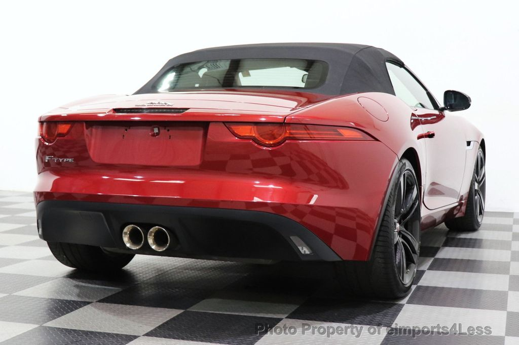 2016 Jaguar F-TYPE CERTIFIED F-TYPE 20s Meridian Audio NAVI - 18499010 - 41