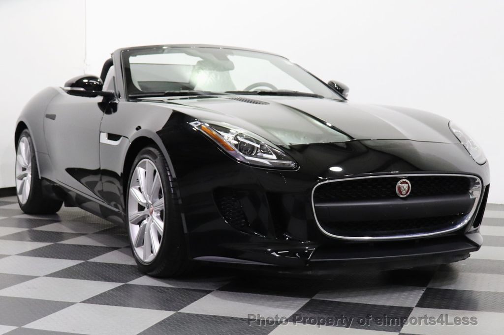 2016 Jaguar F-TYPE CERTIFIED F-TYPE 6 SPEED NAVIGATION CAMERA HEATED SEATS - 18678050 - 10