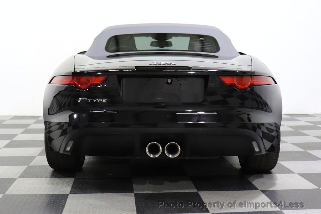 2016 Jaguar F-TYPE CERTIFIED F-TYPE 6 SPEED NAVIGATION CAMERA HEATED SEATS - 18678050 - 12