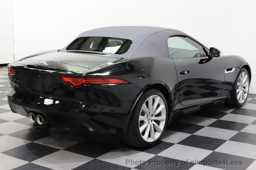 2016 Jaguar F-TYPE CERTIFIED F-TYPE 6 SPEED NAVIGATION CAMERA HEATED SEATS - 18678050 - 13