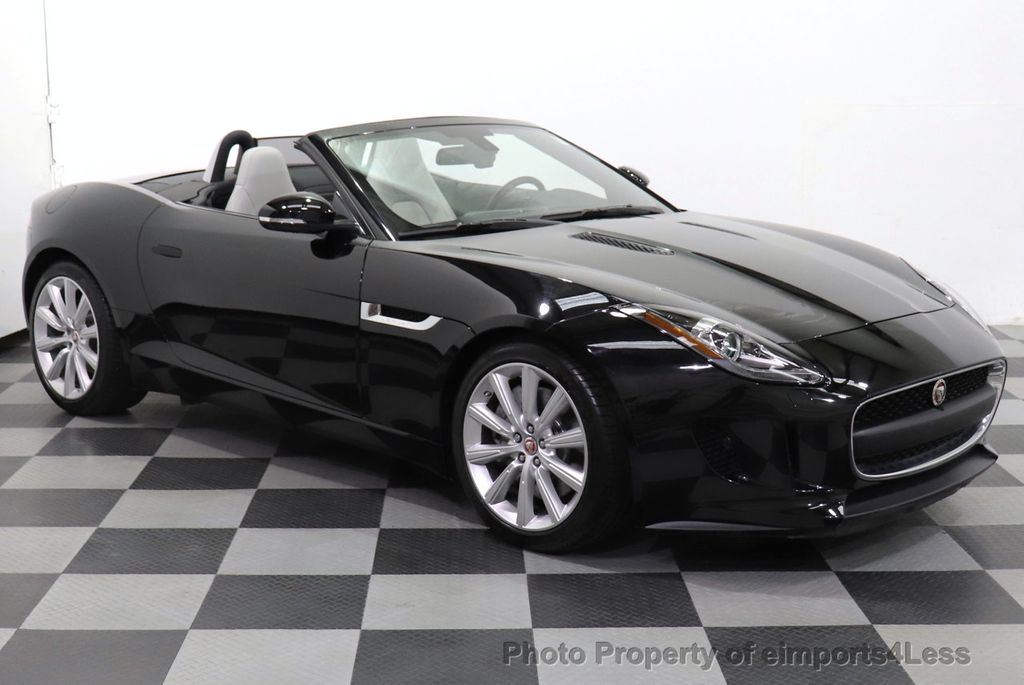 2016 Jaguar F-TYPE CERTIFIED F-TYPE 6 SPEED NAVIGATION CAMERA HEATED SEATS - 18678050 - 20