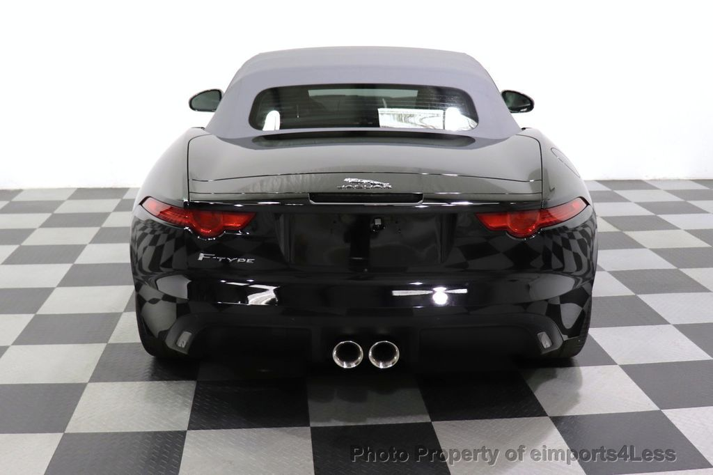 2016 Jaguar F-TYPE CERTIFIED F-TYPE 6 SPEED NAVIGATION CAMERA HEATED SEATS - 18678050 - 22