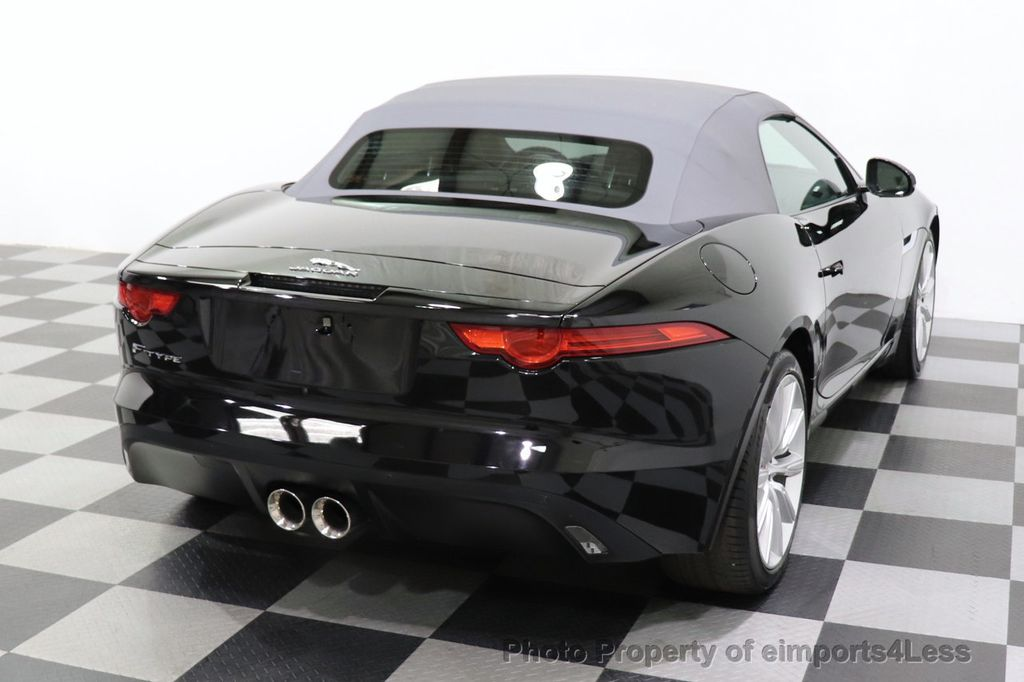 2016 Jaguar F-TYPE CERTIFIED F-TYPE 6 SPEED NAVIGATION CAMERA HEATED SEATS - 18678050 - 23