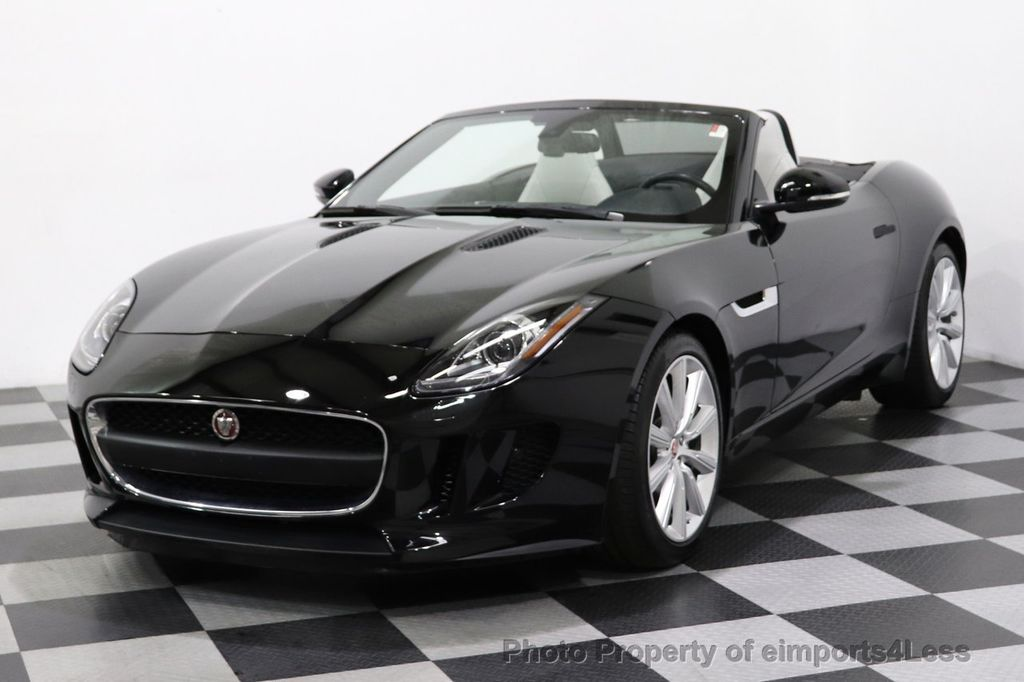 2016 Jaguar F-TYPE CERTIFIED F-TYPE 6 SPEED NAVIGATION CAMERA HEATED SEATS - 18678050 - 30