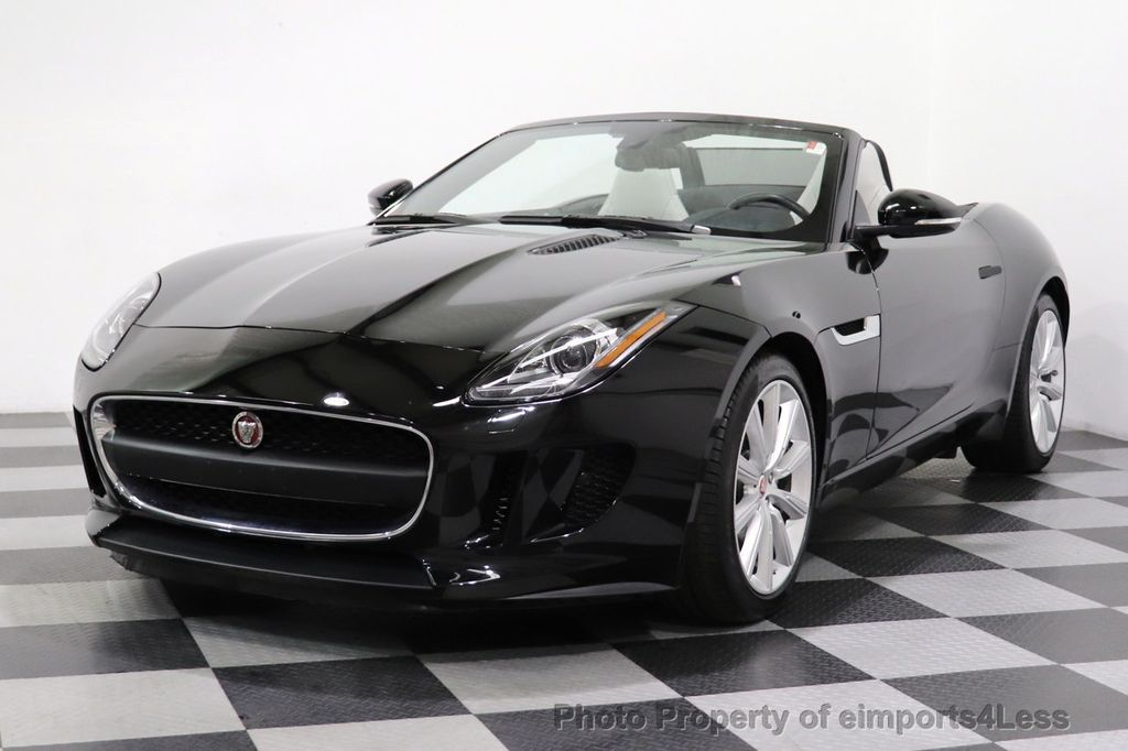 2016 Jaguar F-TYPE CERTIFIED F-TYPE 6 SPEED NAVIGATION CAMERA HEATED SEATS - 18678050 - 32