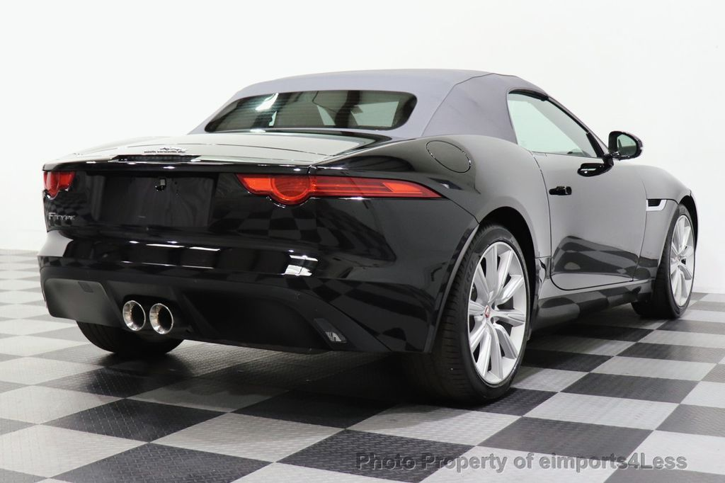 2016 Jaguar F-TYPE CERTIFIED F-TYPE 6 SPEED NAVIGATION CAMERA HEATED SEATS - 18678050 - 34