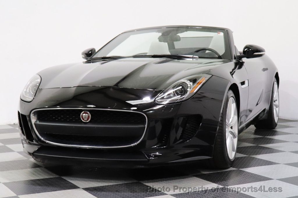 2016 Jaguar F-TYPE CERTIFIED F-TYPE 6 SPEED NAVIGATION CAMERA HEATED SEATS - 18678050 - 37