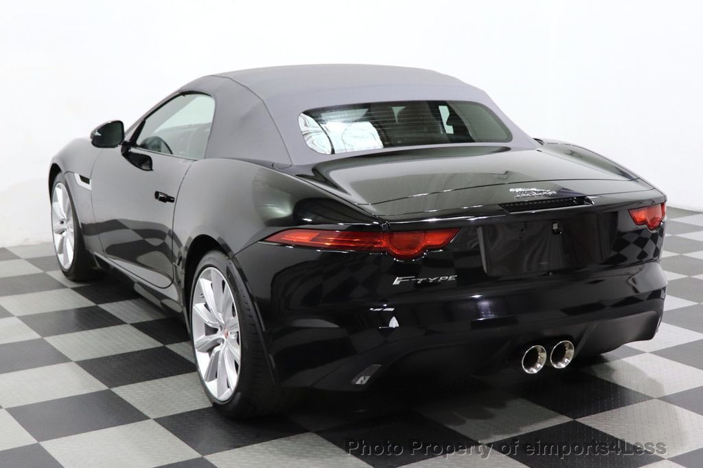 2016 Jaguar F-TYPE CERTIFIED F-TYPE 6 SPEED NAVIGATION CAMERA HEATED SEATS - 18678050 - 38