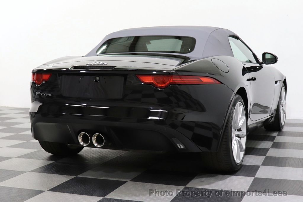 2016 Jaguar F-TYPE CERTIFIED F-TYPE 6 SPEED NAVIGATION CAMERA HEATED SEATS - 18678050 - 39