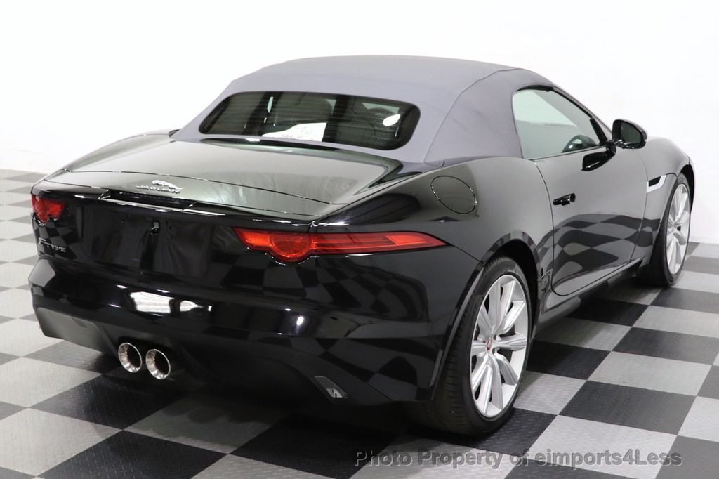 2016 Jaguar F-TYPE CERTIFIED F-TYPE 6 SPEED NAVIGATION CAMERA HEATED SEATS - 18678050 - 4