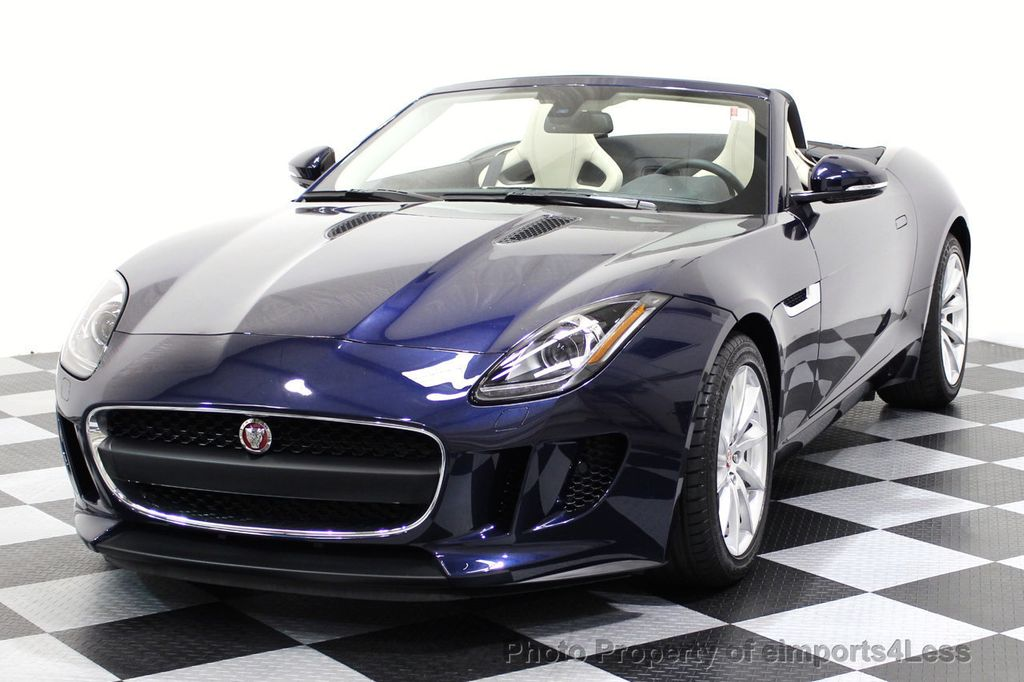2016 used jaguar f type certified f type convertible 6 speed navi at eimports4less serving. Black Bedroom Furniture Sets. Home Design Ideas
