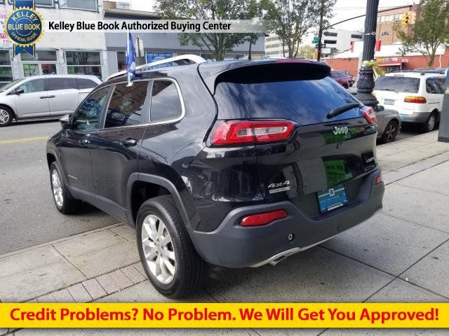 2016 Used Jeep Cherokee 4WD 4dr Limited at Comfort Used Cars Serving  Brooklyn, NY, IID 18102878