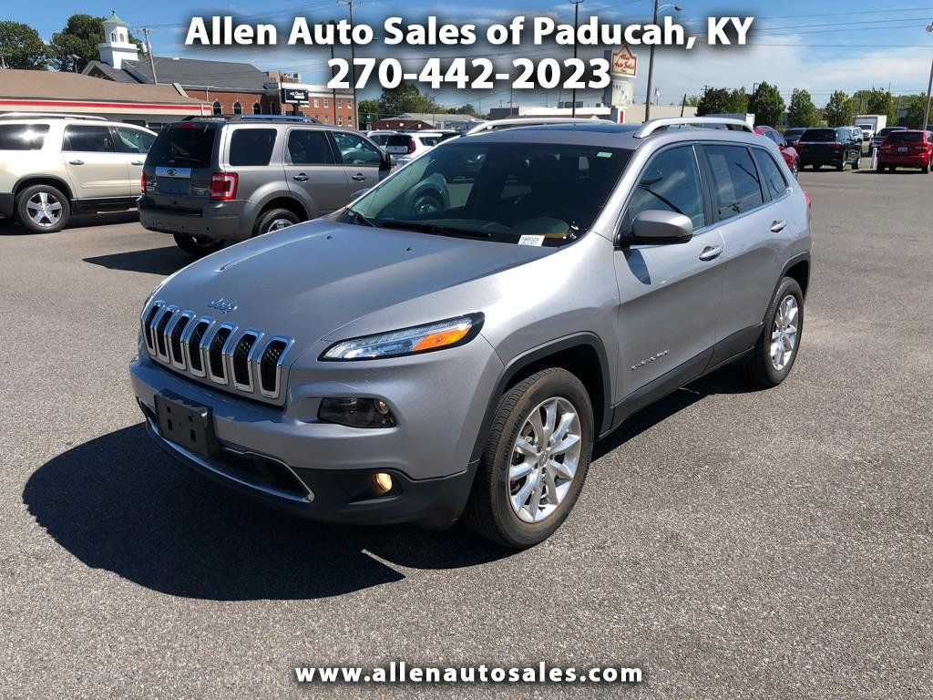 2016 Jeep Cherokee 4wd 4dr Limited 18743461 0