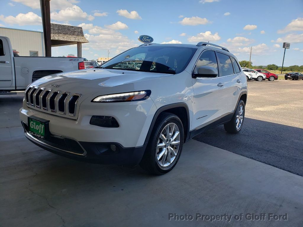 2016 Jeep Cherokee 4WD 4dr Limited - 19342944 - 0