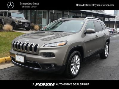 2016 Jeep Cherokee 4WD 4dr Limited SUV