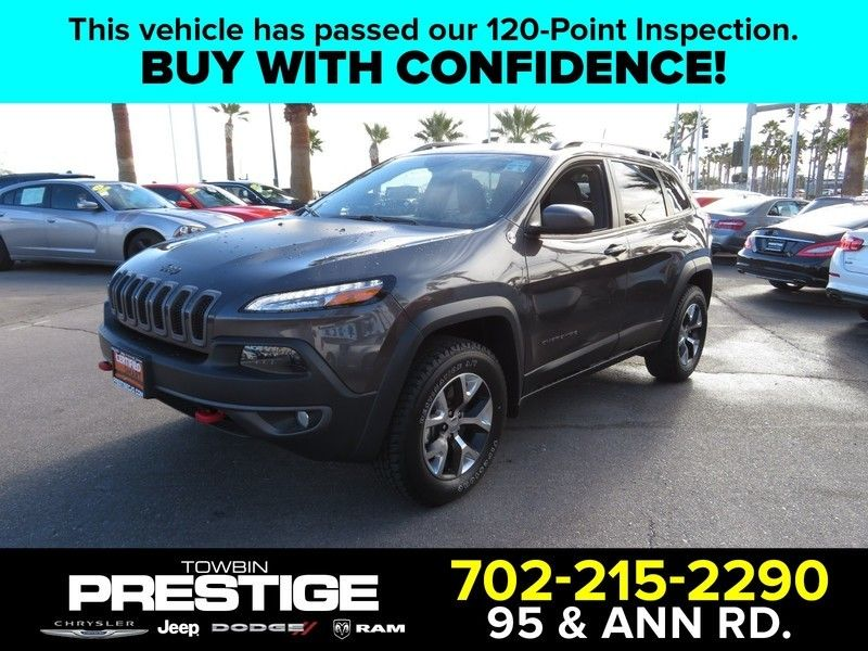 2016 Jeep Cherokee 4WD 4dr Trailhawk - 17153440 - 0