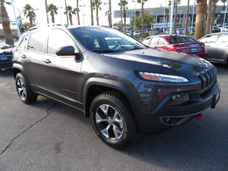 2016 Jeep Cherokee 4WD 4dr Trailhawk - 17153440 - 2