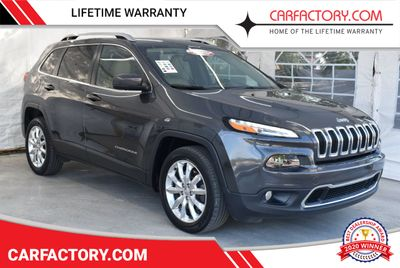 2016 Jeep Cherokee FWD 4dr High Altitude SUV