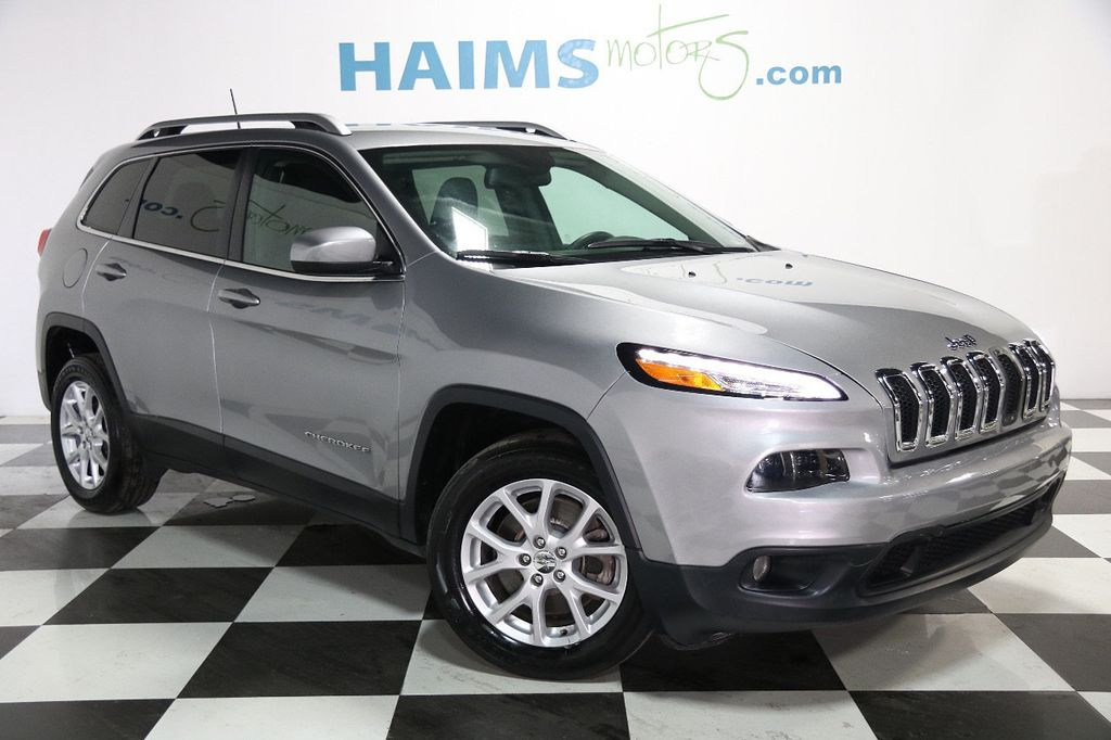 2016 Used Jeep Cherokee Fwd 4dr Latitude At Haims Motors Serving Fort Lauderdale Hollywood