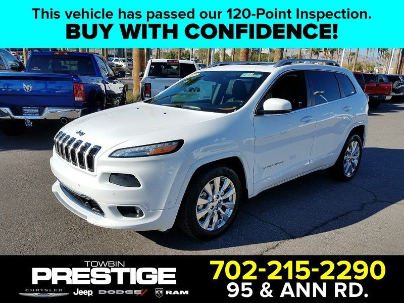 2016 Jeep Cherokee FWD 4dr Overland - 17088789 - 0