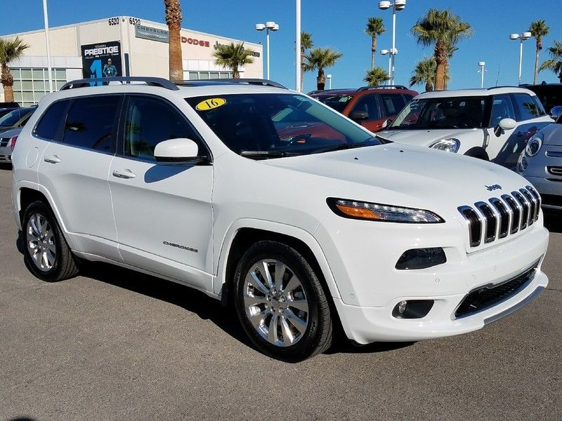2016 Jeep Cherokee FWD 4dr Overland - 17088789 - 2