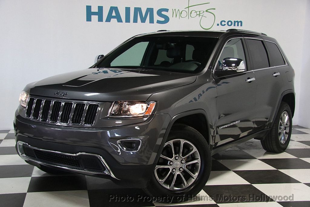 2016 used jeep grand cherokee 4wd 4dr limited at haims motors serving fort lauderdale hollywood. Black Bedroom Furniture Sets. Home Design Ideas