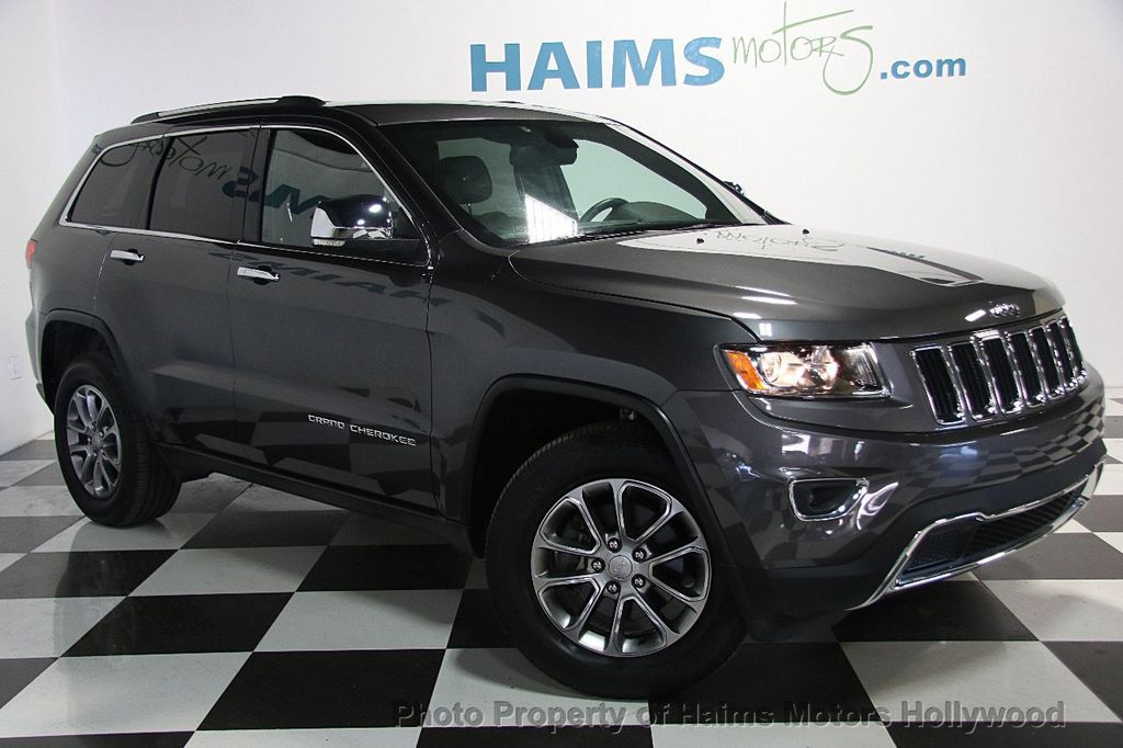 2016 used jeep grand cherokee 4wd 4dr limited at haims motors ft lauderdale serving lauderdale. Black Bedroom Furniture Sets. Home Design Ideas