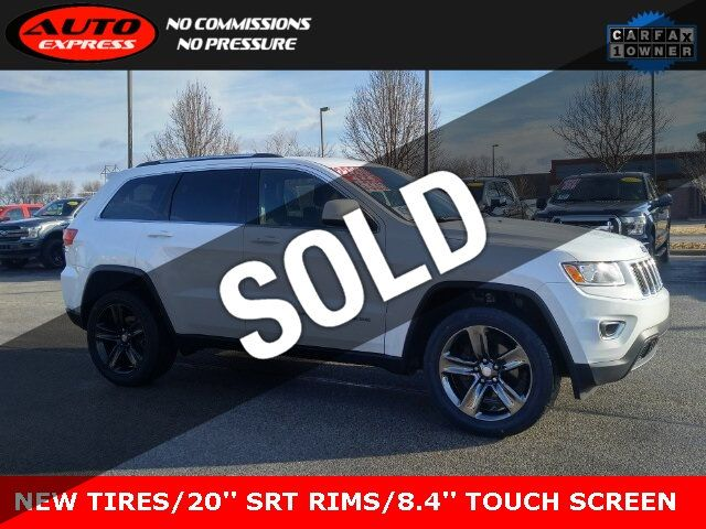 Jeep Grand Cherokee Tires >> 2016 Used Jeep Grand Cherokee Laredo 4x4 20 Black Srt Rims New Tires 8 4 Touch Screen At Auto Express Lafayette In Iid 19663370