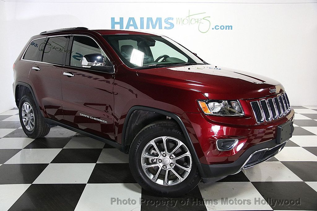 2016 Used Jeep Grand Cherokee Look 4x4 At Haims Motors Serving Fort Lauderdale Hollywood