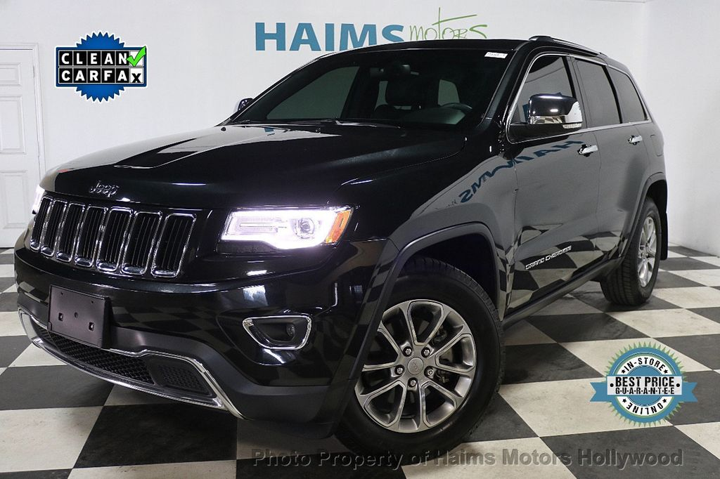 2016 Jeep Grand Cherokee RWD 4dr Limited - 17975799 - 0