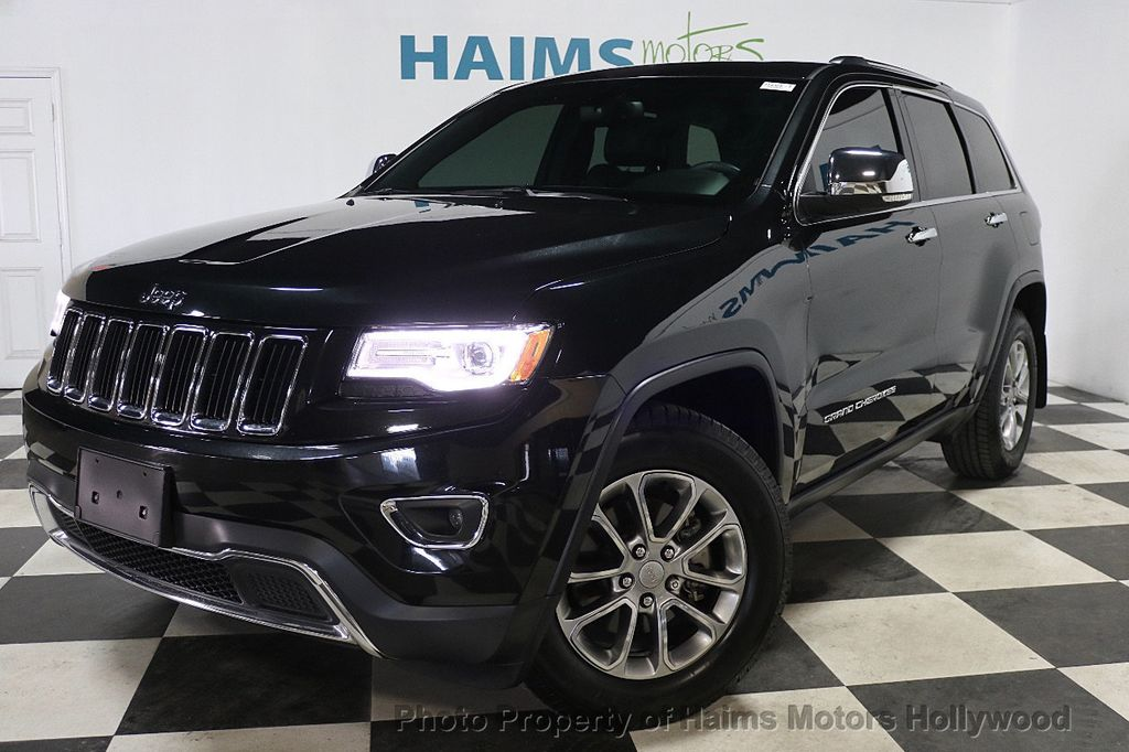 2016 Jeep Grand Cherokee RWD 4dr Limited - 17975799 - 1