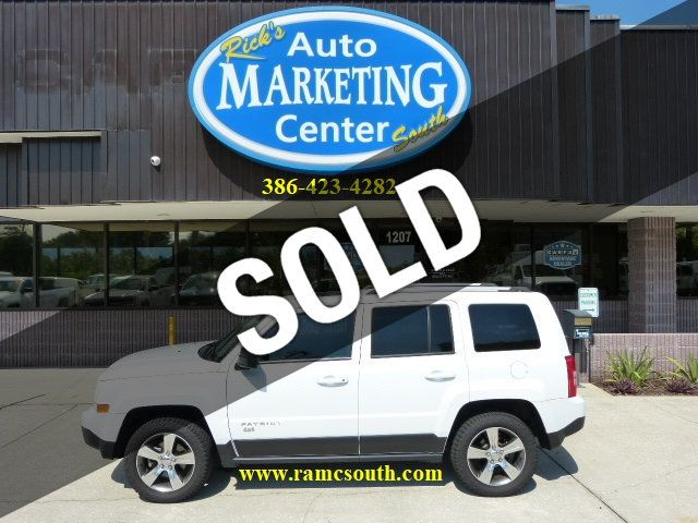2016 Used Jeep Patriot 4wd 4dr High Altitude Edition Local Trade In Factory Warranty At Rick S Auto Marketing Center South Serving New Smyrna Beach Daytona Beach Orlando Fl Iid 20094000