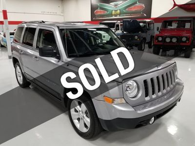 2016 Jeep Patriot FWD 4dr Latitude SUV