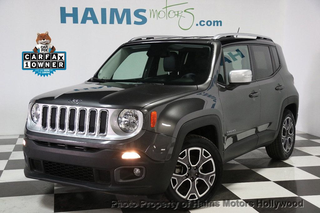 2016 Jeep Renegade FWD 4dr Limited - 16142383 - 0