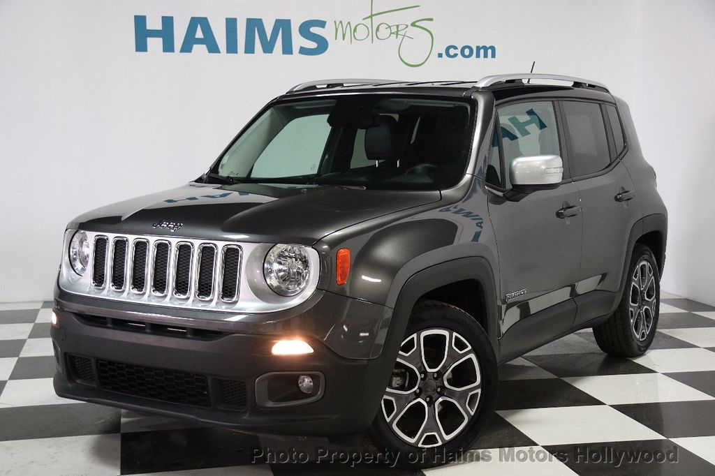 Jeep Renegade Interior >> 2016 Used Jeep Renegade FWD 4dr Limited at Haims Motors Serving Fort Lauderdale, Hollywood ...