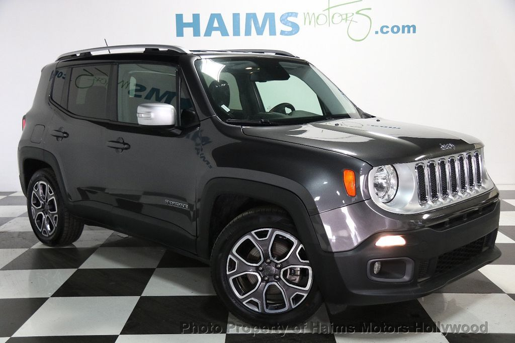 2016 used jeep renegade fwd 4dr limited at haims motors hollywood serving fort lauderdale. Black Bedroom Furniture Sets. Home Design Ideas
