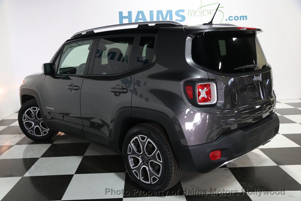 2016 Jeep Renegade FWD 4dr Limited - 16142383 - 4